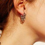720 EARRINGS [SILVER]