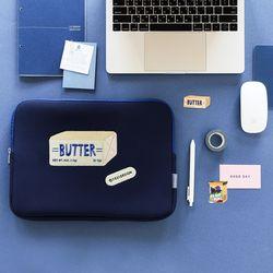 [마우스패드증정] B 칠삼이일 나의 색 나의 하루 노트북파우치 13인치 버터