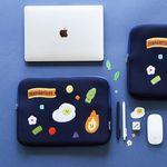 [마우스패드증정] B 칠삼이일 나의 색 나의 하루 노트북파우치 15인치 에그
