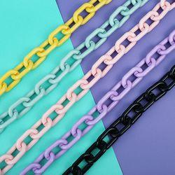 네온파스텔 체인 크로스 가방끈 5colors(AG2E9308TA)