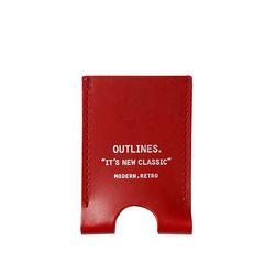 CARD SLIDER red