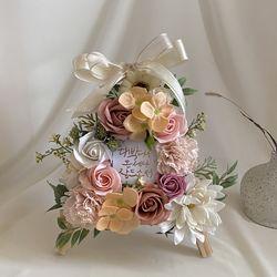 (S)pink 미니카네이션화환 부모님선물 개업선물 승진축하화환