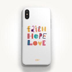 성경말씀폰케이스 디자인-19. 믿음 소망 사랑