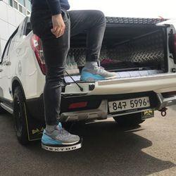 렉스턴스포츠 숏바디 칸 튜닝용품 배드스텝 트렁크발판