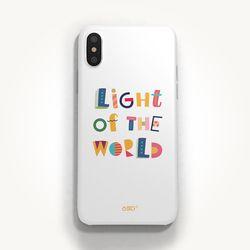 성경말씀폰케이스 디자인-20. 세상의 빛