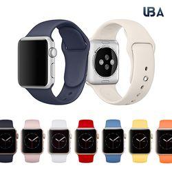 UBA 애플워치 정품형 스포츠밴드 스트랩 전기종호환