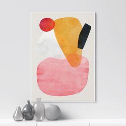 메테오 추상화 그림 인테리어 액자 A3 포스터