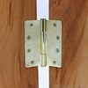 도무스 방문경첩 일반경첩 쓰리너클 골드유광 PB (89x102mm)
