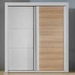 갤러리 오크(1문) 7자 일반형 슬라이딩 장롱