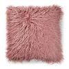 브루드 페이크 퍼 쿠션커버 핑크(45x45)