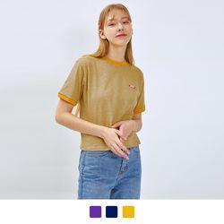 엘립스 링거 반팔 티셔츠