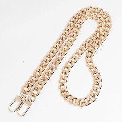 [G009] 커브드 골드 핸드백(100-120cm) 여성가방줄