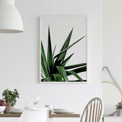 트로피컬 식물 액자 인테리어 A3 포스터