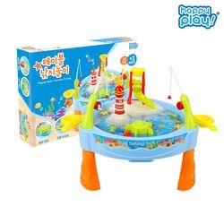 해피플레이 테이블 낚시놀이 몰놀이 목욕 장난감