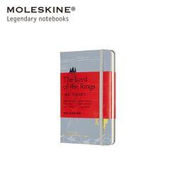 [한정판] 몰스킨 노트 반지의 제왕 하드 룰드 포켓 아이센가드