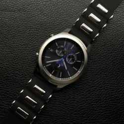 갤럭시워치 기어 블랙 실리콘 밴드 시계줄 20 22mm