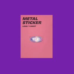 METAL STICKER LOGO