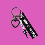 INITIAL KEY HOLDER SWEET