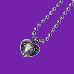 BALL CHAIN NECKLACE HEART