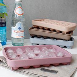 파스텔 실리콘 구슬 얼음틀(4color)