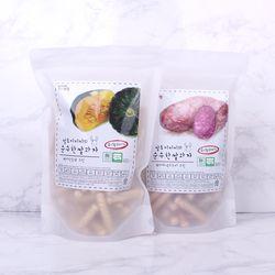 질마재농장 스틱 백미단호박70g+백미자색고구마70g