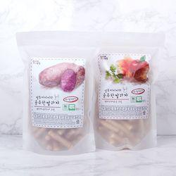 질마재농장 스틱 백미자색고구마70g+현미사과당근70g