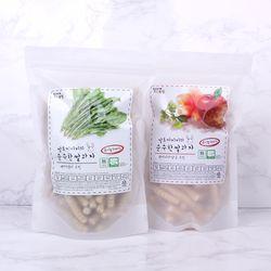 질마재농장 스틱 백미시금치70g+현미사과당근70g