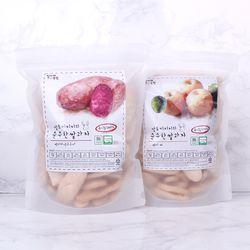 질마재농장 떡 쌀과자 백미자색고구마80g+백미배80g