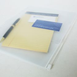 A4형 PVC 지퍼백
