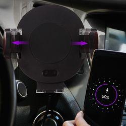 CAMAX-C11 무선 충전 자동 슬라이드 차량용 거치대