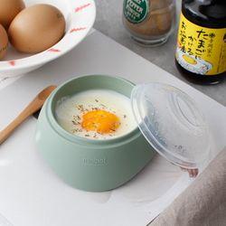 파스텔 실리콘 계란 반숙기- 3color [YE]