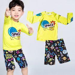 아동래쉬가드 우주소년 상하의 5P세트수영복래시가드