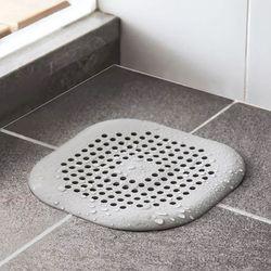 욕실 사각 머리카락 배수구거름망 [C019]