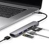 엘라고 6IN1 카드리더 HDMI USB-C타입 멀티허브