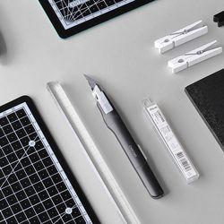 크롬커터 블랙에디션 + 칼라 커팅매트 블랙 A3