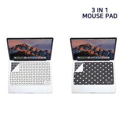 이지픽 아이리쉬 3in1 휴대용 극세사 마우스패드 키보드보호