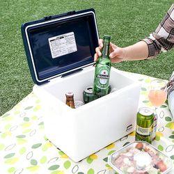 일본생산 캠핑 피크닉 낚시 12L 휴대 아이스 쿨러박스