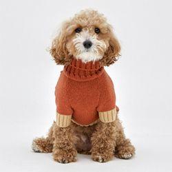 Brick Cashmere Knit - S M Size