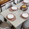 재생 가죽 테이블 매트 (2 디자인)(6 컬러)
