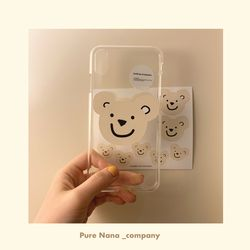 PureNana Bear Sticker