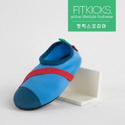 키즈 슬립온 클래식 신발 블루