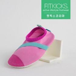 키즈 슬립온 클래식 신발 핑크