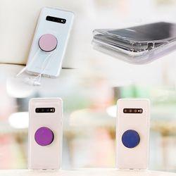아이폰8플러스 DobleTok 그립톡 풀커버 젤리 케이스