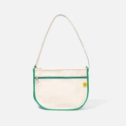 DAL DAL CROSS BAG Ecru-green