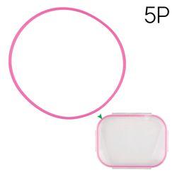 식판뚜껑실리콘(기본식판호환 핑크)5p