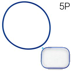 식판뚜껑실리콘(기본식판호환 블루)5p