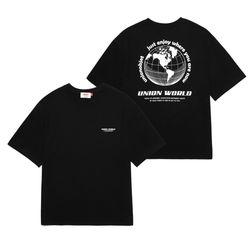 UNION WORLD T-SHIRT - BLACK