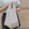 Easy stripe green bag.