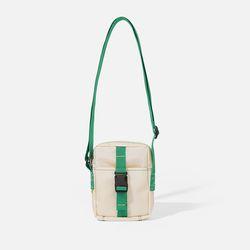 POKI POCKET BAG Ecru-green