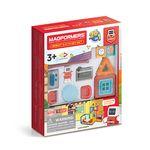 맥포머스 미니봇의 키친 세트 33PCS+모델북